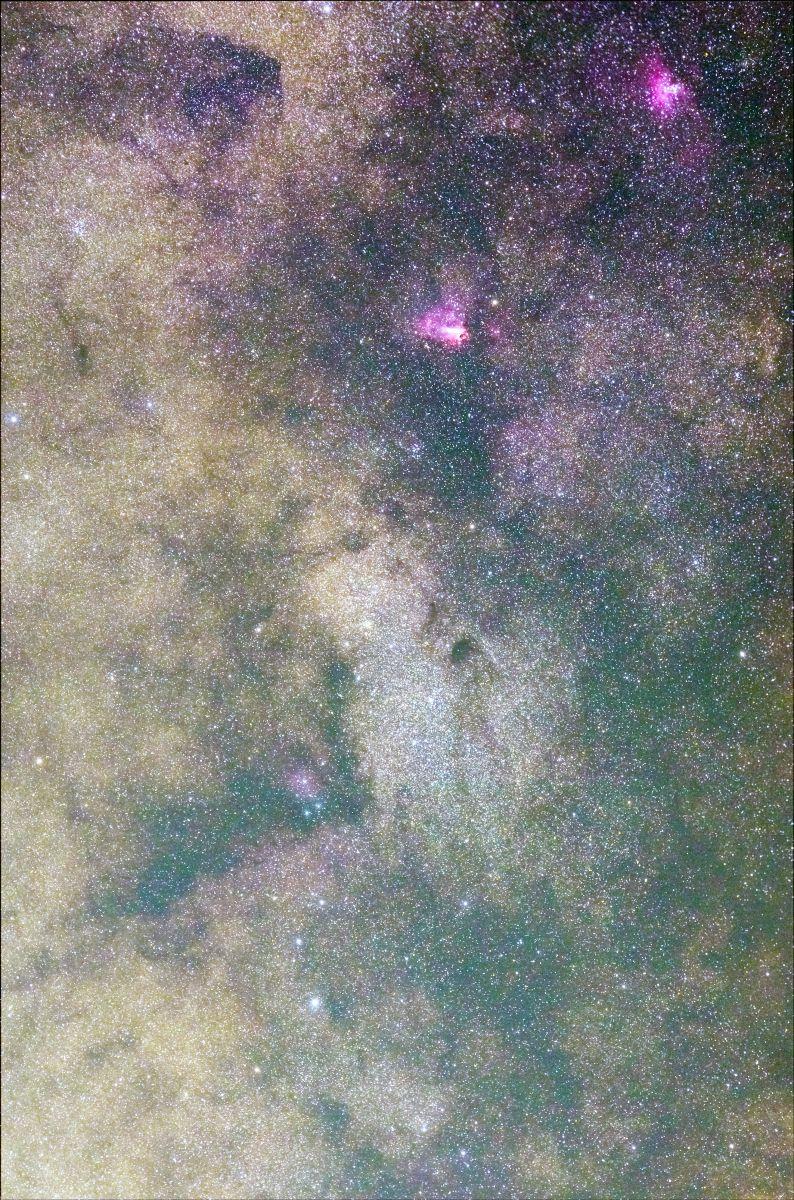 天の川銀河 いて座スタークラウ...