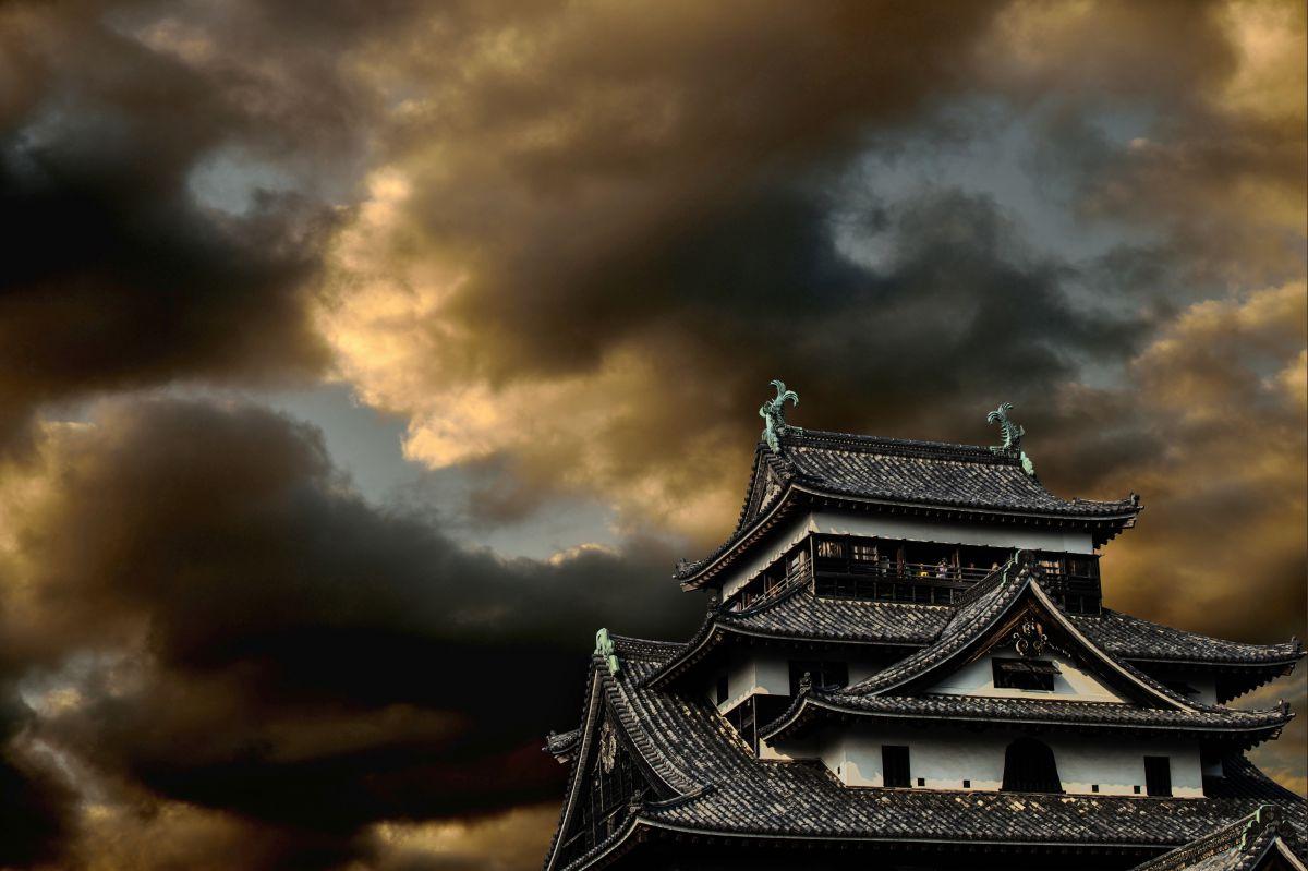 暗雲松江城