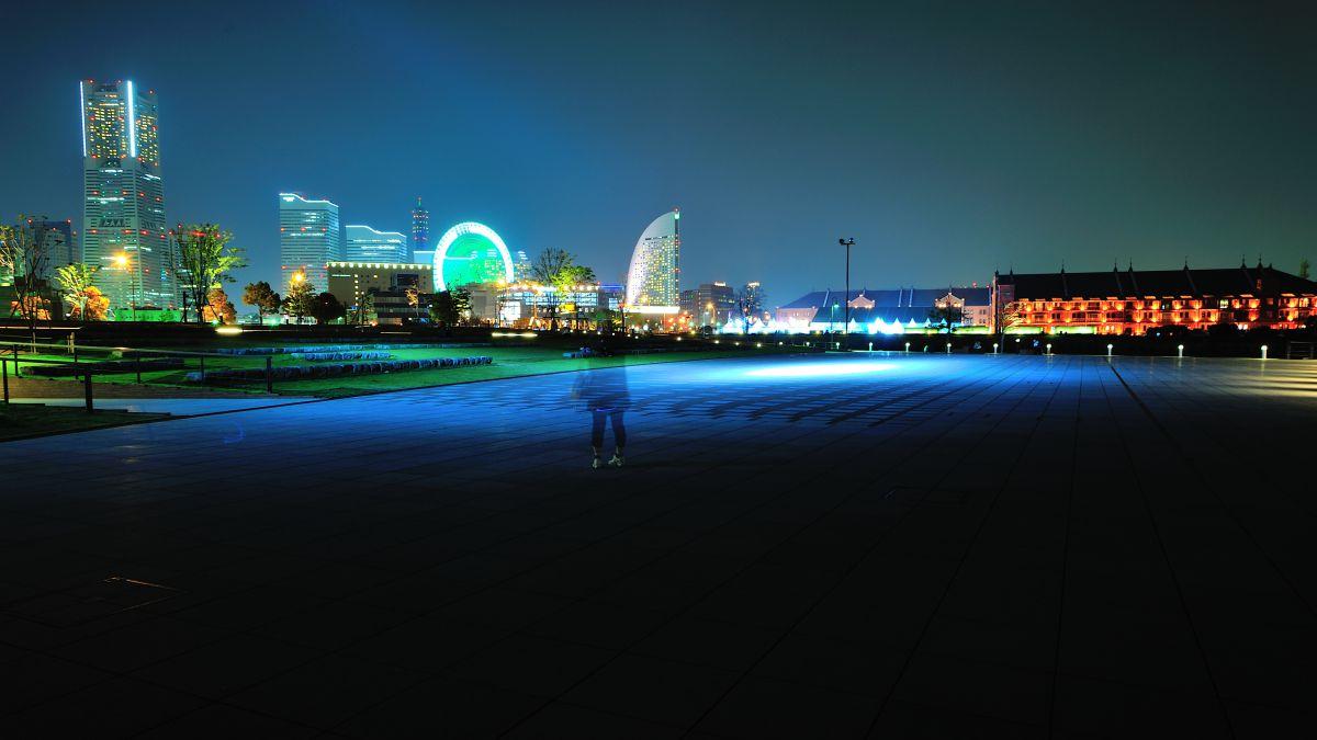 横浜夜景散歩 スポットライト